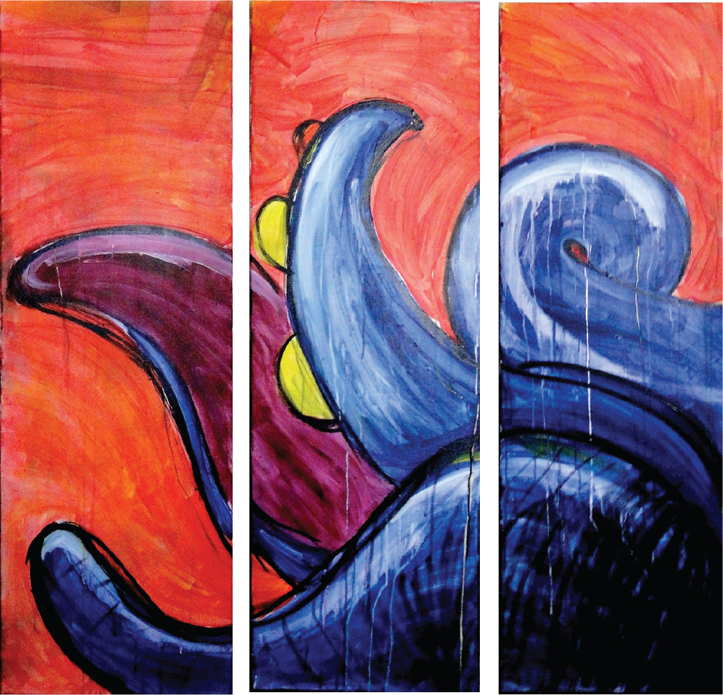Octopus triptyque